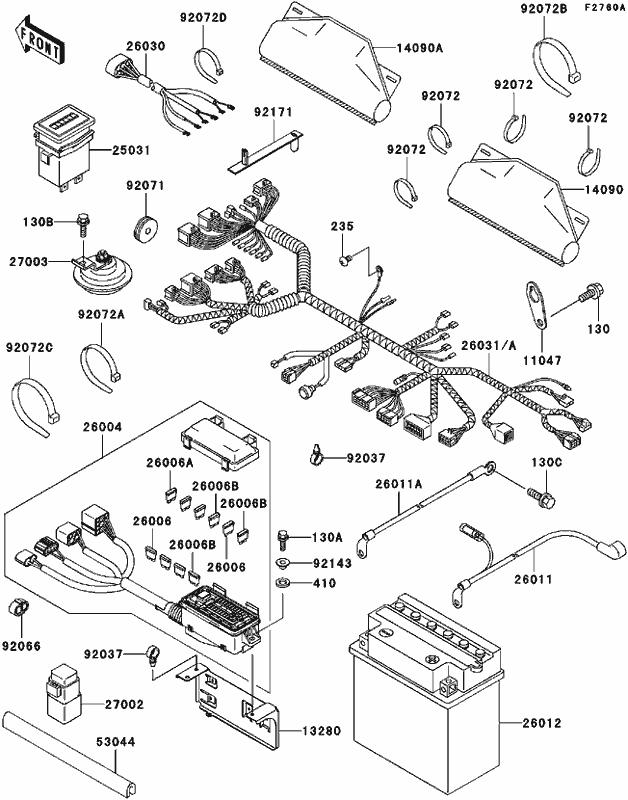 2000 Kawasaki Zx12 Wiring Diagram